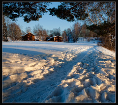 Domkirkeoden (stella-mia) Tags: snow norway evening eveninglight hedmark 2470mm koigen hedmarksmuseet canon5dmkii