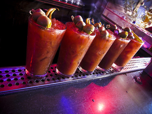 Bloody Marys At Blondie's