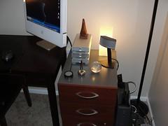 Home Office - Jan '10 (penningtonj) Tags: mac desk workspace setup