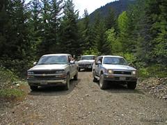Exploring the Mountains North of Cle Elum Lake (Trystian Sky) Tags: olympus trucks c4040 cleelumlake c4040z olympus4040z 4040z forestryserviceroads olympus4040zoom