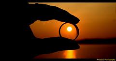 Romantic Sunset (AnoopaJoshi) Tags: sunset ashtamudikayal romanticsunset sunsetatashtamudikayal