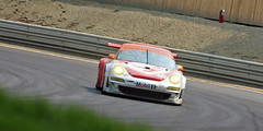 Flying Lizard Motorsports Porsche 911 GT3 RSR (Jesse Pells) Tags: auto car racecar competition racing driver michelin alms americanlemansseries limerockpark canonef70200f4l flyinglizardmotorsports mobil1 canoneos40d porsche911gt3rsr