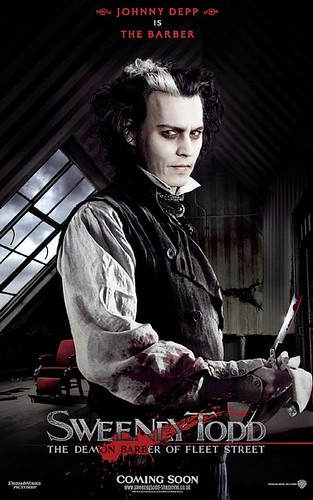 Sweeney Todd movie poster 01
