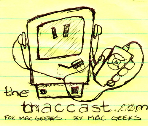 Original Sketch for Maccast Logo