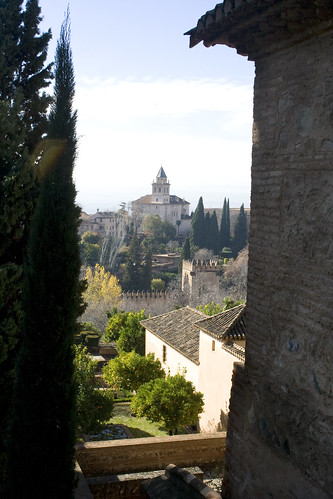 Alhambra cathedral view