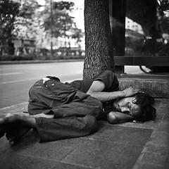 Street Sleeper - Bangkok, city of angels
