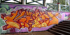 KEST (Kast - AFX) Tags: wall graffiti eger first fork legal afx 2010 kest mrzero