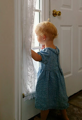 "Anxious child at window (IronRodArt - Royce Bair (""Star Shooter"")) Tags: baby abandoned window girl childhood out kid toddler waiting alone loneliness child sad looking little curtain young security abandon innocence wait curtains secure lonely through feeling behavior awaiting sorrow development abandonment anxiety parenting anxious insecurity insecure discipline anxiously"