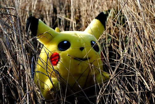 WILD PIKACHU APPEARS! by Sadie Hernandez, on Flickr