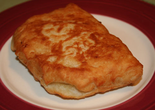 Stuffed Fried Bread Dough
