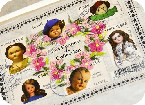 Stamps ~ Les Poupées de Collection