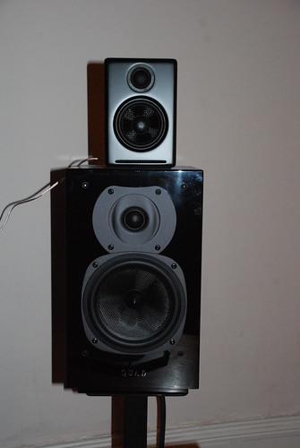 speakers hifi woofer tweeter mdf kevlar audioengine ipoddock audiophile activespeakers