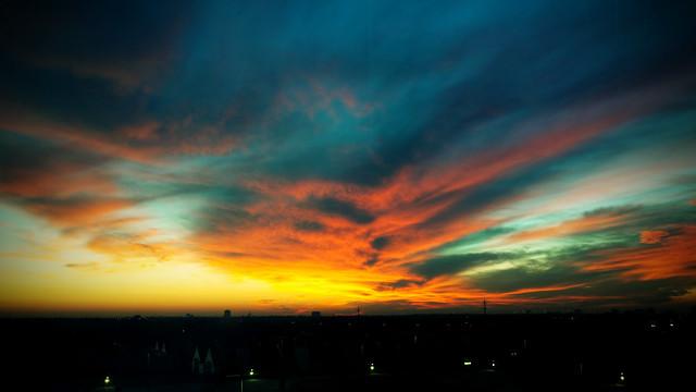 Sunrise from Improving