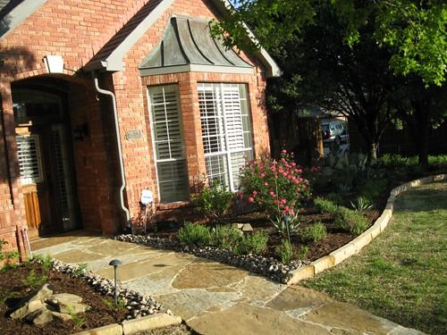 Frontyard landscape designers