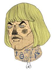 plagiarism (for praga zine) (pearpicker.) Tags: zine tattoo illustration drawing praga bones heman skeletor plagiarism orko grayskull pearpicker benerohlmann