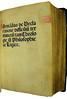 Title page in Armandus de Bellovisu: De declaratione difficilium terminorum tam theologiae quam philosophiae ac logicae