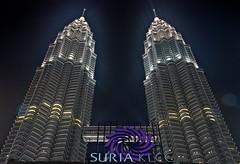 The Petronas Towers (dar1o) Tags: tower petronas towers twin malaysia kuala hdr lumpur petronastower dario dar1o