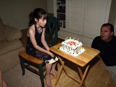 Making her Birthday wish (HIRH_MOM) Tags: arizona thanksgivingday 2009 mybeautifuldaughter november27th megan9thbirthday