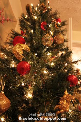 christmas tree close up