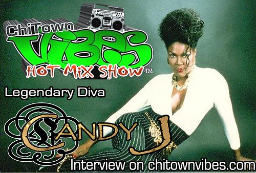 Candy J Interview Flyer