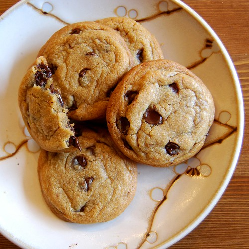 Artful Food: Browned Butter Chocolate Chip Cookies