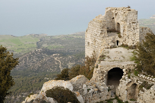 View from Kantara castle