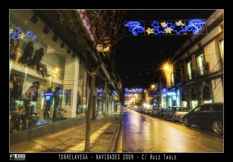 Torrelavega - Calle Ruiz Tagle - Navidades 2009