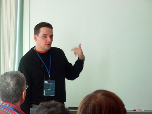Me, PResenting at WordCamp Boston