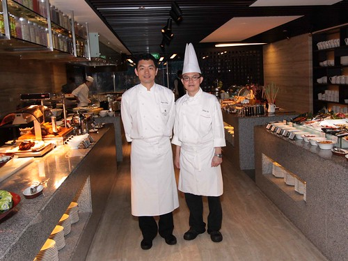 Sous Chef William Tan & Japanese Executive Chef Shigeru Akashi