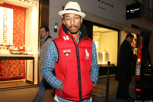 Pharrell by Karl Hab, on Flickr
