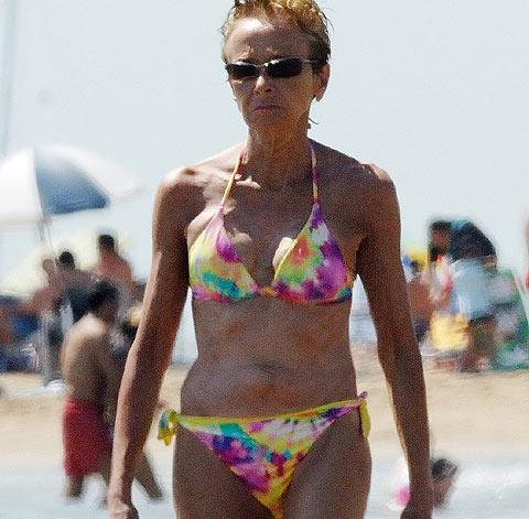 La vicepresidenta en bikini