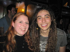 Me and his dreadlock-ness, Jason Castro :)