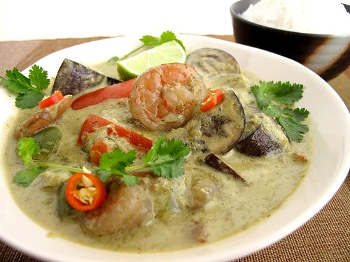 how to make green curry recipe