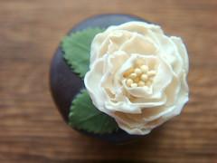1/12th Scale Miniature - Elegant Peony Cake