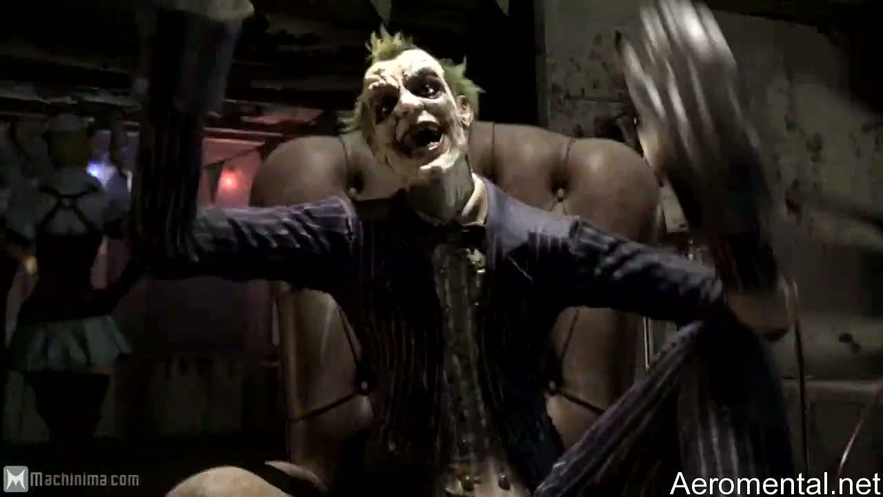Batman Arkham Asylum 2 Joker