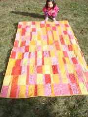 (erin m.) Tags: winter red orange yellow quilt 2009 plainspoken 2010fo