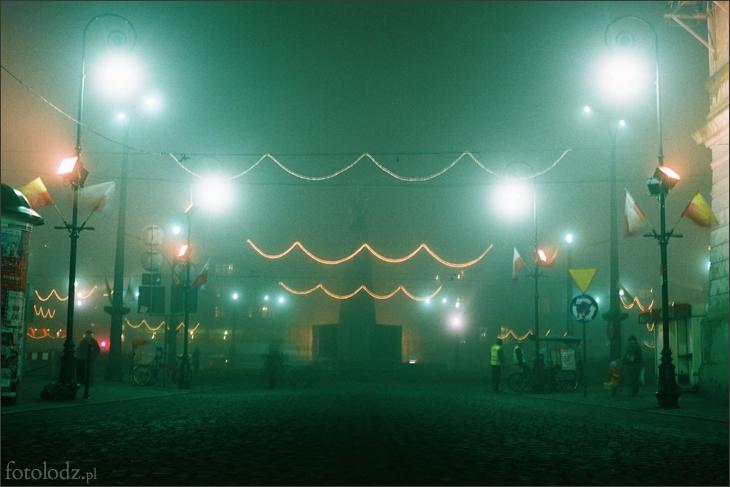 Kosciuszko we mgle