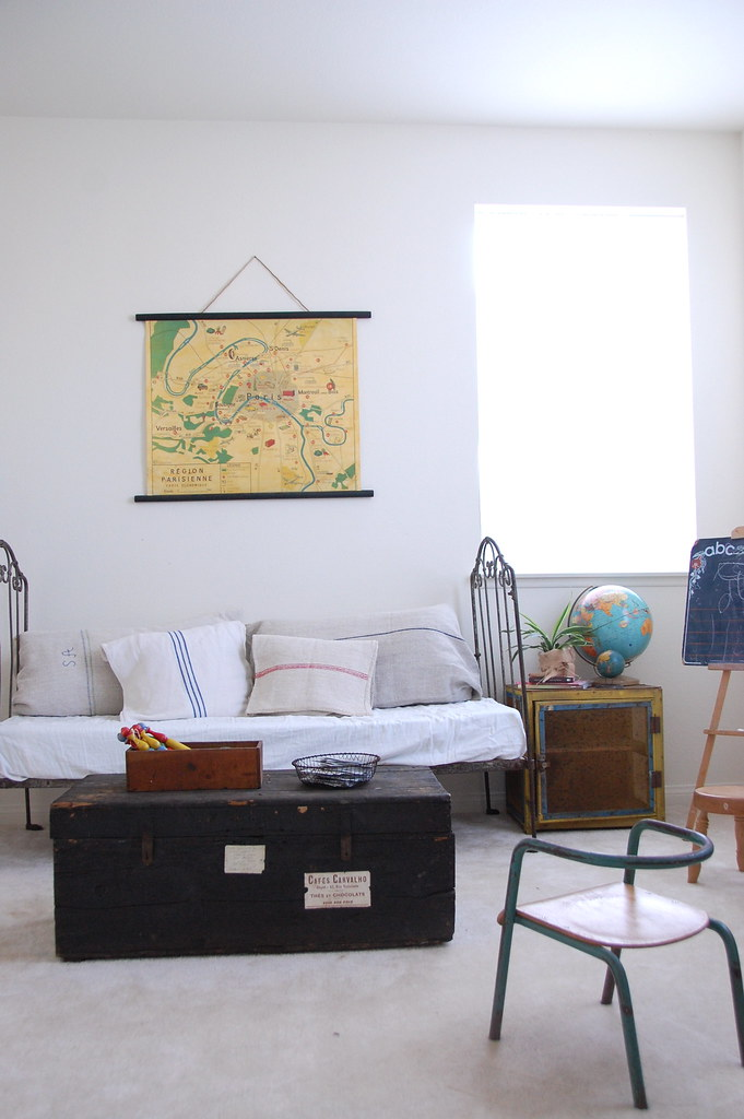 loft/studio work area