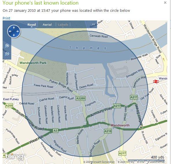 myphone location