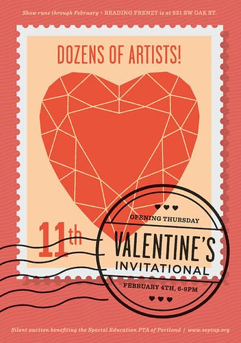 Valentine's Invitational at Reading Frenzy!