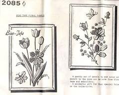 Bias Tape Floral Motifs
