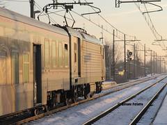 Una E464 Baciata Dal Sole. (FerioD443) Tags: old graffiti rail railway railways ti treno segnale trenitalia treni e464 xmpr pantografo