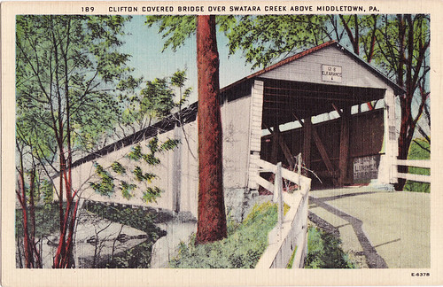 clifton covered bridge