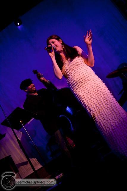 Karin Carson CD Release Show at Tango Del Rey 12310 © Michael Klayman-014
