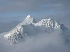 Mount Shuksan peeks