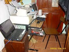 Escritorio de Sofia (sefsinalas) Tags: blogger linux escritorio