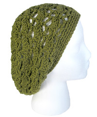 Pineapple Coconut Slouchy Hat