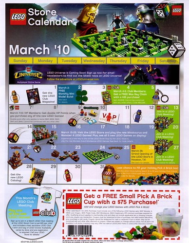 Lego Brand Retail USA March 2010
