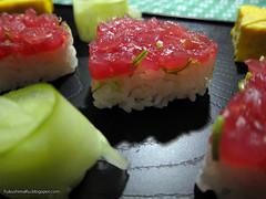 Sushi a forma di cuore per San Valentino