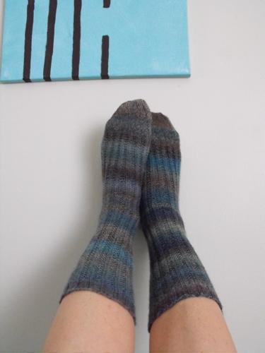 Pre-Olympic Socks